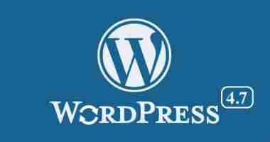 Scopri il nuovo WordPress 4.7