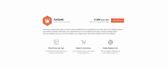 Scegliere un hosting di successo: SiteGround - GoGeek
