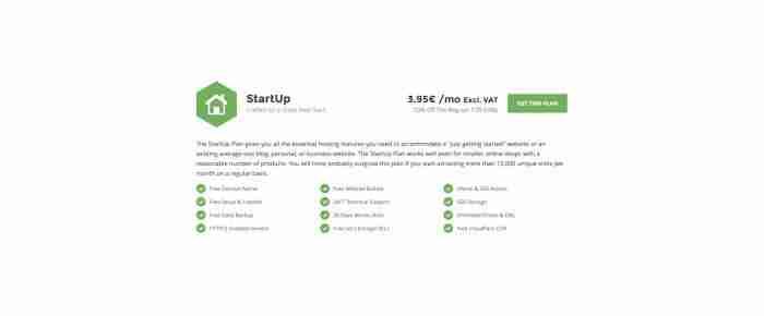 Scegliere un hosting di successo: SiteGround - StartUp
