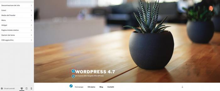 È disponibile WordPress 4.7 - Scorciatoie
