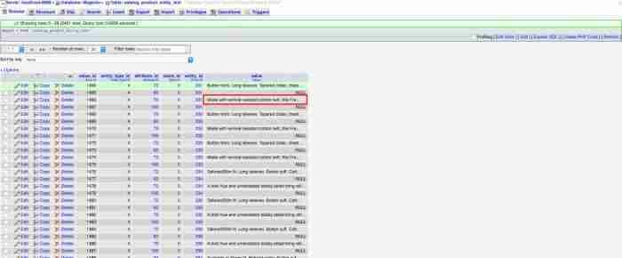 Come aggiornare gli indici su Magento - EAV catalog