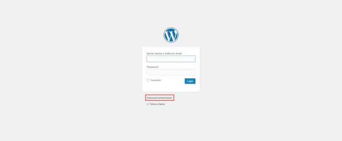 Come resettare la password di WordPress con phpMyAdmin - Hai dimenticato la password?