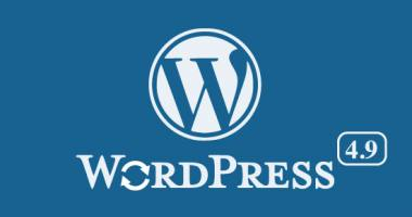 Scopri il nuovo WordPress 4.9