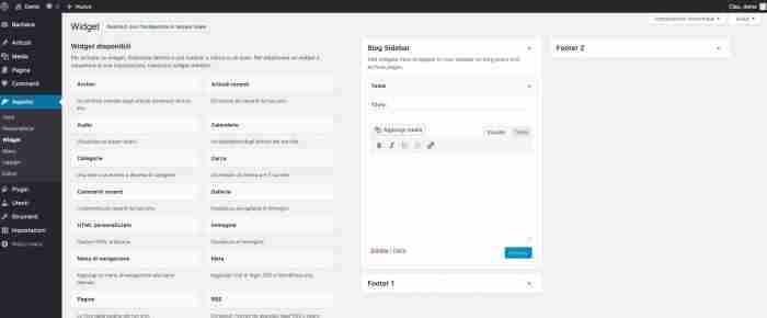 Scopri il nuovo WordPress 4.9 - Aggiungi Media