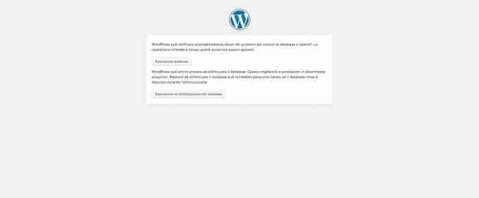 Come ottimizzare e riparare il database di WordPress - Tool riparazione