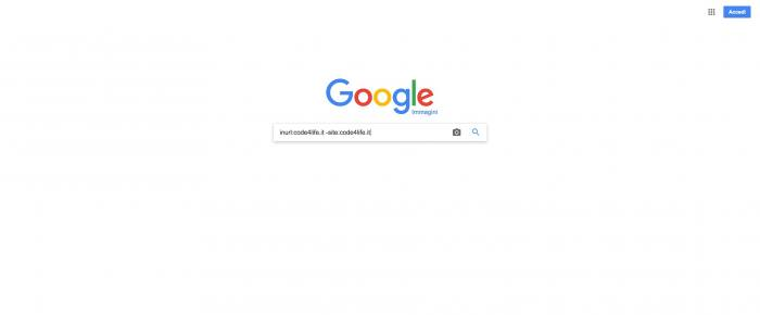 Bloccare l'hotlinking sulle immagini - Google immagini