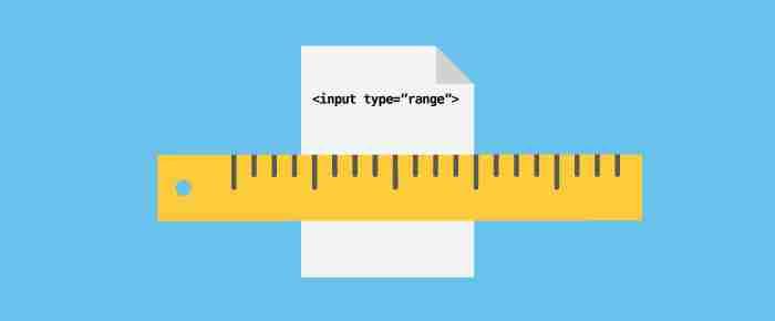 Come personalizzare un input range con CSS