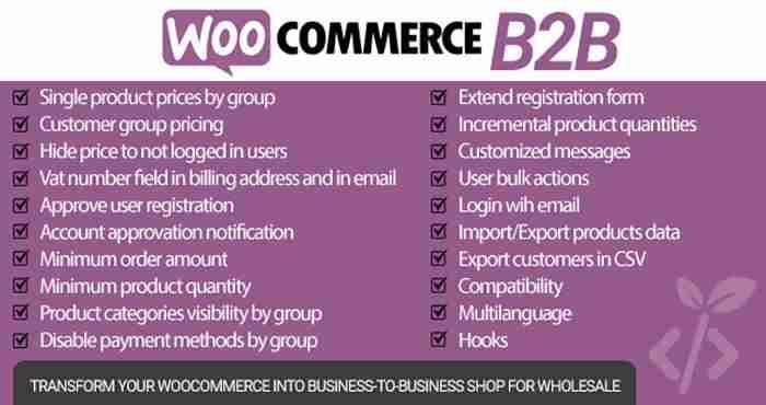 WooCommerce B2B