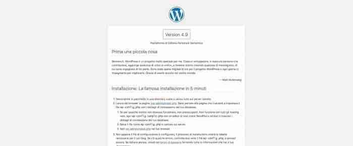 Come rendere sicuro WordPress - Readme