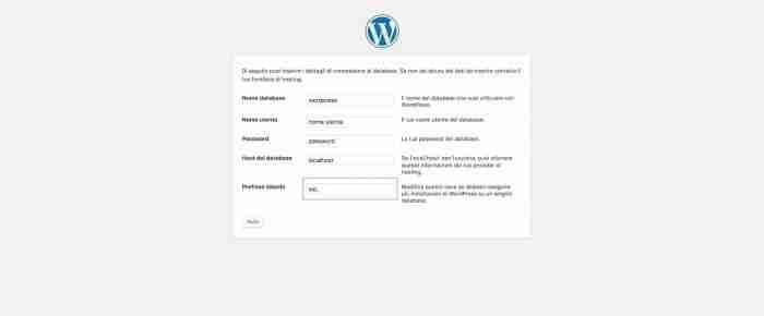Come rendere sicuro WordPress - Prefisso tabelle DB